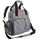 Diaper Bag Backpack for Baby Care, Multi Function Waterproof Insulated and Cooler Tote Travel Backpack with 11 Spacious Pocke