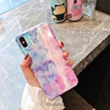 Cocomii Holographic Marble iPhone 6S Plus/6 Plus Case, Slim Thin Glossy Soft TPU Silicone Rubber Gel Shiny Reflective Gradien
