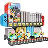 Skywin Retro Games Cartridge Holder Compatible with Nintendo Gameboy, Switch, NES, N64, and 3DS Games - 61 Games Capacity, In