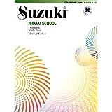 Suzuki Cello School, Vol 4: Cello Part (Book & CD)