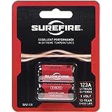 SUREFIRE(シュアファイア) LEDライト専用 3Vリチウムバッテリー 123A(2個入り) SF2CB