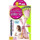 スリムウォーク 足指セラピー (オールシーズン用) ショートタイプ S-Mサイズ マーブルピンク(SLIM WALK,split open-toe socks,SM)