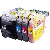 【インク革命製】 ブラザー用 LC3129-4PK (4色セット大容量) Brother対応 互換 インクカートリッジ 対応機種:MFC-J6995CDW