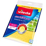 Vileda Actifibre Cloth for Cleaning Glass– Yellow