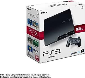 PlayStation 3 (160GB) チャコール・ブラック (CECH-3000A)【メーカー生産終了】