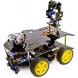 Yahboom Ultimate Starter Kit for Raspberry Pi 3 B+ HD Camera Programmable Smart Robot Car Kit.