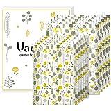 Vacplus 圧縮袋 10枚組 衣類圧縮袋【L:50x35cmx5枚&S:40x30cmx5枚 掃除機不要 終身交換承…