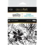 iCraft Deco Foil Toner Card Fronts by Unity, Wild Garden