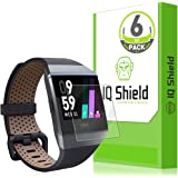 Fitbit Ionic Screen Protector (6-Pack) IQ Shield LiquidSkin Full Coverage Screen Protector for Fitbit Ionic Smartwatch HD Cle