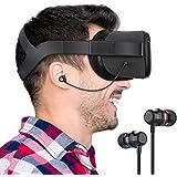 KIWI design Oculus Quest 専用インイヤーヘッドホン イヤホン ステレオ 高音質 オキュラス クエ…