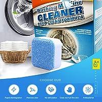 12ピース多機能発泡洗濯機クリーナー洗濯機クリーナータブレット濃縮固体洗濯機クリーニング