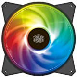 Cooler Master MasterFan 120mm Addressable RGB ARGB 120mm Fan - Black Frame - R4-120R-20PC-R1