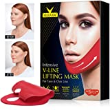 V Line Mask Chin Up Patch, Lifting Face Neck, Double Chin Reducer, Anti Age Firming Contour Tightening and Moisturizing Colla