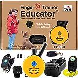 Educator E-Collar - FT-330 - Waterproof Remote Finger Trainer Micro 1/2 Mile Range - Static, Vibration and Sound Stimulation