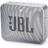 JBL GO2 Portable Bluetooth Speaker with Rechargeable Battery, Waterproof, Built-in Speakerphone, Grey