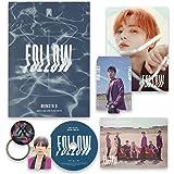 FOLLOW-FIND YOU [ II ver. ] - MONSTA X 7th Mini Album CD + Photobook + Mini Poster + Lyrics + Photocard + Photostand + OFFICI