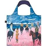 LOQI LQB1-MUPGHB Museum Shopping Bag, Horseman On The Beach, L Capacity