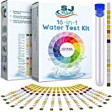 16 in 1 Drinking Water Test Kit | Water Test Strips for Aquarium, Pool, Spa, Well & Tap Water | High Sensitivity Test Strips