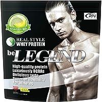 [Amazon限定ブランド] Real Nutrition ビーレジェンド ホエイプロテイン めろめろメロン風味【1kg…
