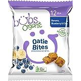 Bubs Organic Oatie Bites Banana Blueberry & Chia 30g, 1 Count