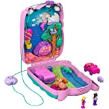Polly Pocket Koala Adventures Wearable Purse Compact With Micro Polly Doll Friend Doll, 8 Outdoor-Related Features, 5 Animals