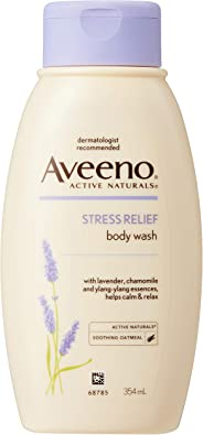 Aveeno Stress Relief Wash, 354ml