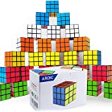 Mini Cube Puzzle Party Toy Eco-Friendly Material with Vivid ColorsParty Favor School Supplies Puzzle Game Set for Boy Girl Ki