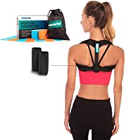 Posture Corrector – Adjustable Clavicle Brace to Comfortably Improve Bad Posture for Men and Women - Posture Corrector...