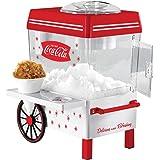Nostalgia SCM550COKE Coca-Cola Countertop Snow Cone Maker Makes 20 Icy Treats, Includes 2 Reusable Plastic Cups & Ice Scoop –
