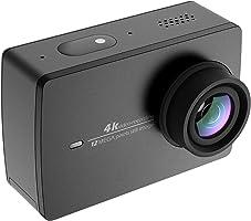 Yi 4K 运动相机运动相机 ウェアラブルカメラ 155° 广角镜头 JP 版日语对应原创正品黑