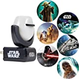 Projectables Star Wars Night 6-Image, Disney, Plug-in, for Kids, Collector's Edition, Light Sensing, Darth Vader, Ceiling, Wa