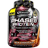 Whey Protein Powder | MuscleTech Phase8 Whey Protein | Sustained-Release 8-Hour Protein Shakes for Men & Women | 26g of Prote