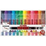 三菱鉛筆 水性ペン プロッキーツイン 12色 PM150TR12CN