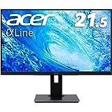 Acer モニター ディスプレイ AlphaLine 21.5インチ B227Qbmiprzx/IPS/非光沢/フルHD/250cd/4ms/ミニD-Sub 15ピン・HDMI・DisplayPort/ハイト・スイベル・ピボット機能
