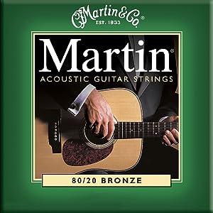 Martinのアコースティックギター弦
