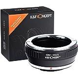 K&F Concept® マウントアダプター Olympus OMレンズ- Micro 4/3カメラ装着用レンズアダプター OM-M4/3