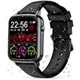 2021 CEGAR Fitness Tracker, Smart Watch with Heart Rate, Ip68 Waterproof Bluetooth Smartwatch for Android iOS Phone, Sleep Tr