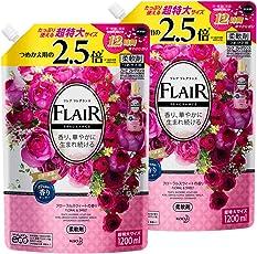 【まとめ買い】フレアフレグランス フローラル&スウィートの香り 詰替用 1200ml×2個