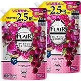 【Amazon.co.jp 限定】【まとめ買い】フレアフレグランス フローラル&スウィートの香り 詰め替え 大容量 1200ml×2個