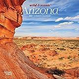 Arizona Wild & Scenic 2021 7 x 7 Inch Monthly Mini Wall Calendar, USA United States of America Southwest State Nature