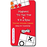 Magnetic Travel Game - Car Games , Airplane Games and Quiet Games Tic Tac Toe
