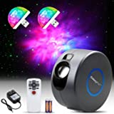 LUUMEO® Night Light Galaxy Star Projector 7 in 1 Remote Control LED Nebula Cloud Living Bedroom Decorations Home Theater Ligh