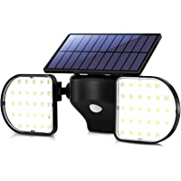 【2020最新昇級版】OUSFOT ソーラーライト センサーライト 2灯式 ガーデンライト 高輝度 56LED 屋外 I…