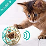 Dougez 猫 おもちゃ ボール 噛むおもちゃ ネズミ 運動不足やストレス解消 猫遊び用 音が鳴るボール