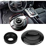 Xotic Tech Navigation Button Joystick Control Center Button Cover MMI Knob Repair Kit for Audi A4 A5 A6 Q5 Q7 S4 S6 2007-2015