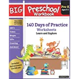 Big Preschool Workbook Ages 3 - 5: 140+ Days of PreK Curriculum Activities, Pre K Prep Learning Resources for 3 Year Olds, Ed