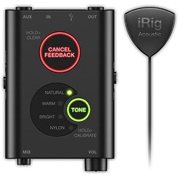 IK Multimedia iRig Acoustic Stage アコースティック・ギター用マイク&プリアンプ・システム【国内正規品】