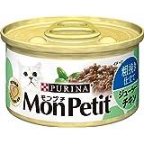 モンプチ 缶 成猫用 粗挽き仕立て ジューシーチキン 85g×24缶入り (ケース販売) [キャットフード]