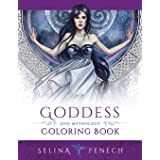 Goddess and Mythology Coloring Book: 9