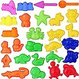 NUOBESTY 砂型のおもちゃ教育遊び砂型砂型セット砂浜おもちゃ用男の子女の子子供27ピース